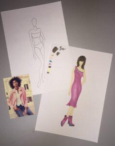 Markertest - Mode Teken Cursus - Online Mode Academie